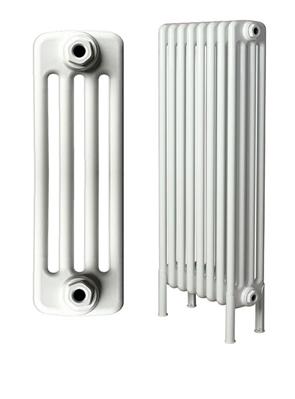 Apollo Roma Freestanding 4 Column White Radiator 600 x 1000mm