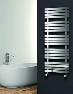 Related Reina Sienna 500 x 1690mm Stainless Steel Satin Finish Radiator