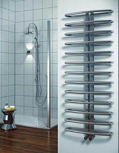 More info Reina Spica 520 x 740mm Stainless Steel Satin Finish Radiator