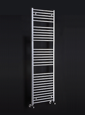 Phoenix Flavia Straight 400 x 1500mm Chrome Heated Towel Rail