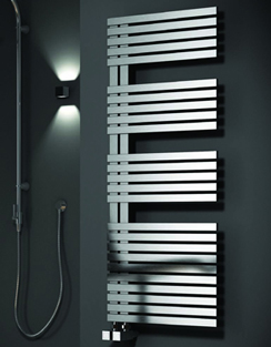 Related Reina Entice Satin Stainless Steel Designer Radiator 500 x 1200mm