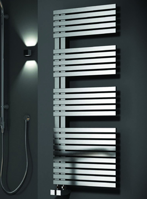 Reina Entice Satin Stainless Steel Designer Radiator 500 x 770mm