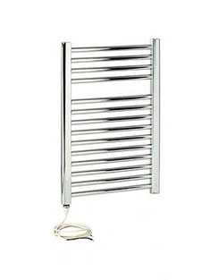 Related Apollo Napoli Sealed Electric Curved Towel Rail 450 x 700mm Chrome