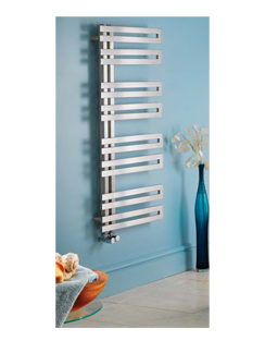 Related Apollo Genova Offset Brushed Stainless Steel Towel Warmer 500 x 1000mm