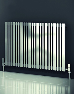 More info Reina Versa Brushed Stainless Steel Radiator 415 x 600mm