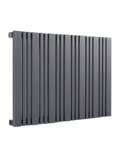 More info Reina Bonera Anthracite Designer Horizontal Radiator 456 x 550mm