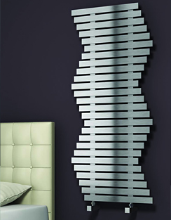 Related Reina Wave 600 x 790mm Brushed Stainless Steel Radiator