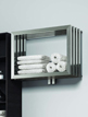 Reina Caldo Satin Stainless Steel Designer Radiator 700 x 500mm