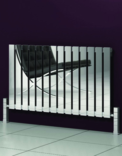 Related Reina Calix Polished Stainless Steel Designer Radiator 435 x 600mm