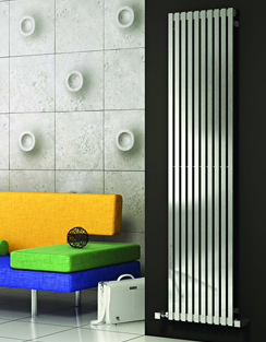 More info Reina Xeina Satin Finish Stainless Steel Radiator 331 x 2000mm