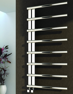 More info Reina Celico Polished Stainless Steel Radiator 500 x 1000mm