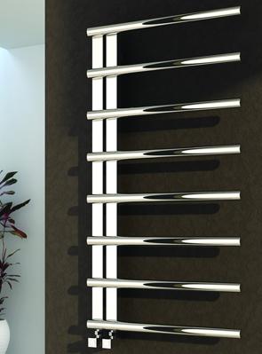 Reina Celico Polished Stainless Steel Radiator 500 x 1000mm