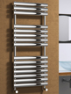 Reina Helin Polished Stainless Steel Designer Radiator 500 x 1120mm