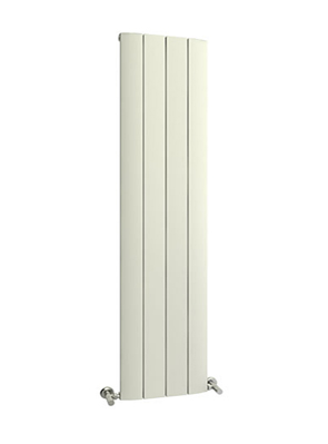 Reina Aleo White Aluminium Vertical Radiator 375 x 1800mm