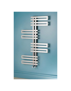 Related Apollo Genova Wave Brushed Stainless Steel Towel Warmer 600 x 1000mm