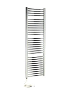 Related Apollo Napoli Sealed Electric Curved Towel Rail 600 x 1500mm Chrome