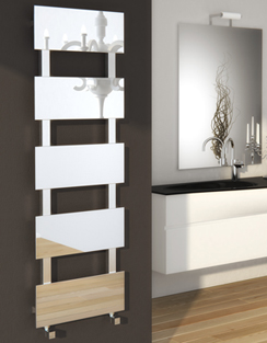 More info Reina Mirror Stainless Steel Designer Radiator 473 x 813mm