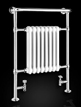 Reina Victoria 675 x 960mm Traditional Radiator Chrome And White
