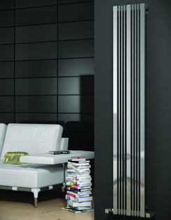 Related Reina Karia Satin Stainless Steel Designer Radiator 430 x 1800mm