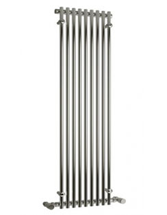 More info Reina Careo Chrome 380 x 1780mm Designer Vertical Radiator