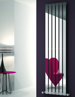 Related Reina Lavian Polished Stainless Steel Designer Radiator 285 x 1800mm