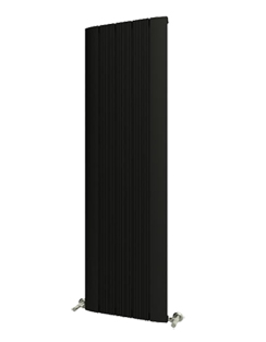 More info Reina Dalia Black Aluminium Vertical Radiator 280 x 1800mm