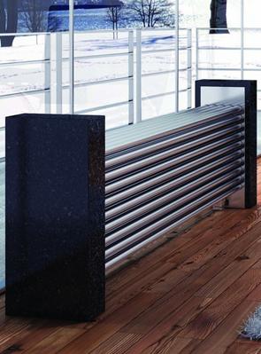 Reina Marinox 50 Tube Stainless Steel Designer Radiator 1200 x 500mm
