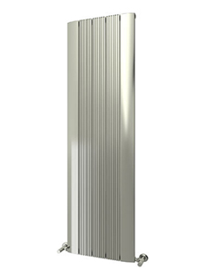 More info Reina Dalia Polished Aluminium Vertical Radiator 280 x 1800mm