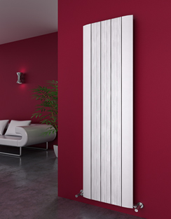 More info Reina Dalia White Aluminium Vertical Radiator 280 x 1800mm