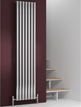 Reina Nerox Single Polished Vertical Stainless Steel Radiator 413 x 1800mm