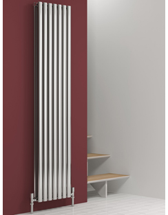 Related Reina Nerox Double Polished Vertical Stainless Steel Radiator 413 x 1800mm