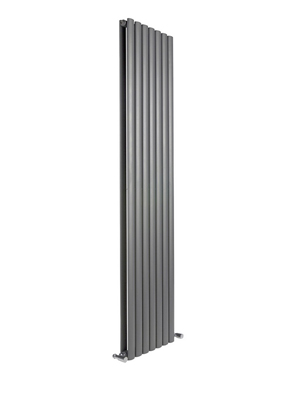 Reina Neva Vertical Anthracite Double Panel Radiator 413 x 1800mm