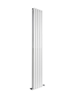 More info Reina Neva White Double Panel Designer Radiator 295 x 1800mm