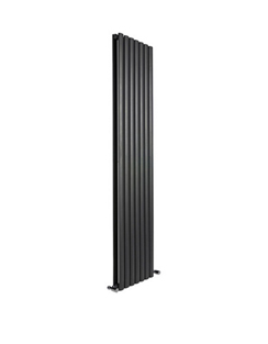 More info Reina Neva Black Double Panel Designer Radiator 295 x 1800mm