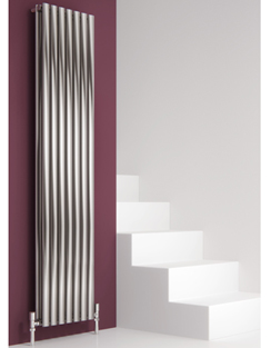 More info Reina Nerox Double Brushed Vertical Stainless Steel Radiator 295 x 1800mm