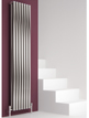 Reina Nerox Double Brushed Vertical Stainless Steel Radiator 413 x 1800mm