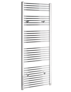 More info Tivolis Straight Chrome Heated Towel Rail 400 x 1800mm