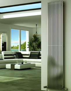 More info Reina Odin Satin Stainless Steel Designer Radiator 230 x 1800mm
