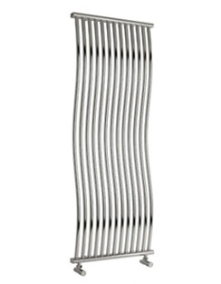 More info Reina Corle Chrome 400 x 1700mm Designer Radiator