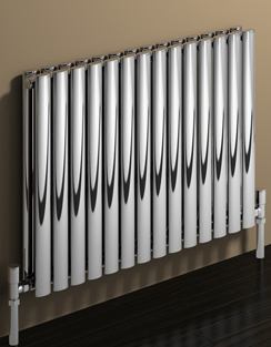 More info Reina Nerox Double Polished Horizontal Stainless Steel Radiator 413 x 600mm