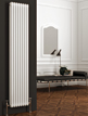 Reina Colona 290 x 1800mm 2 Column Vertical Radiator White