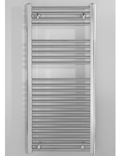 Related Biasi Naonis 300 x 800mm Chrome Straight Heated Towel Rail