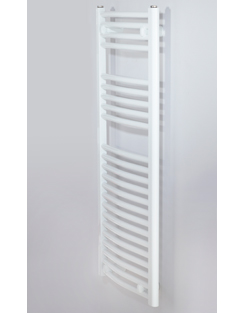 Related Biasi Naonis 500 x 800mm White Curved Heated Towel Rail