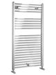 Biasi Dolomite 300 x 800mm Chrome Straight Heated Towel Rail