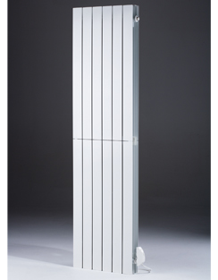 More info MHS Decoral Hi 500 x 1800mm White Aluminium Electric Radiator
