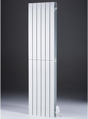 MHS Decoral Hi 660 x 1800mm White Aluminium Electric Radiator