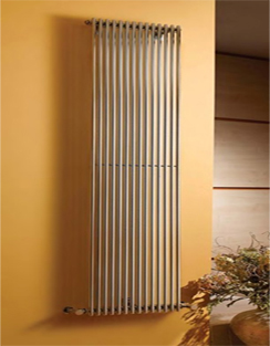 Related Apollo Rimini Straight Single Tube On Tube Chrome Radiator 400 x 1800mm