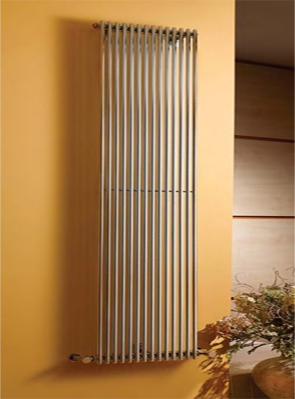 Apollo Rimini Straight Single Tube On Tube White Radiator 300 x 1800mm