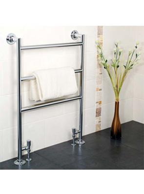 Apollo Siena Chrome Contemporary Towel Rail 485 x 956mm
