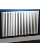 Phoenix Tower Horizontal 945 x 600mm White Designer Radiator